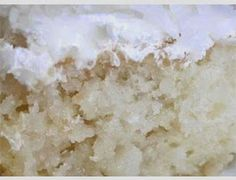all new recipes: ::COCONUT CAKE::