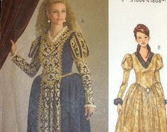 princess, queen gown, sew pattern, sewing patterns, pattern uncut