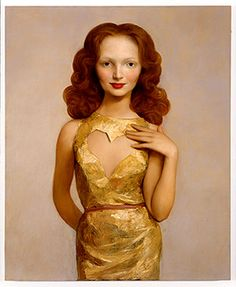John Currin , oil on canvas, not sure of the date