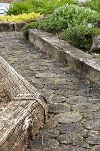 wood pathway flooring