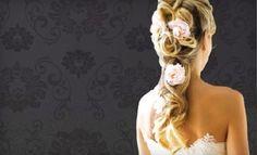 Bride and Bridesmaid hair styles