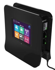 Touchscreen Wireless Router/Repeater