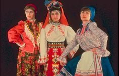 Trajes tipicos de Rusia