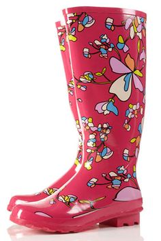 Wellies from Top shop - maybe?