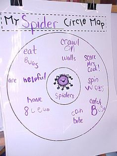 circle map (great for informational writings)