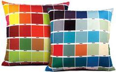 Pantone Pillows panton color, cushions, throw pillows, panton thing, pantone