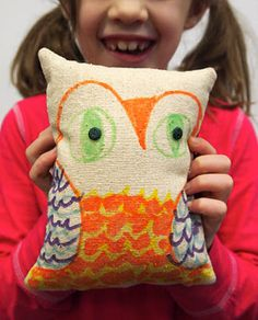 Soft Sculpture Owl