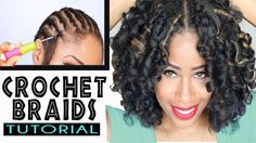 Tutorial: CROCHET BRAIDS w/ MARLEY HAIR #naturalhair #protectivestyle