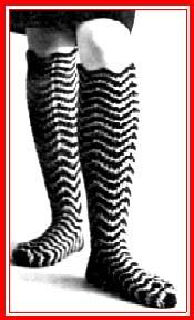 365 Crochet: Knee High Boot Socks