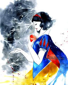 Love this one Snow white by Maevachan.deviantart.com