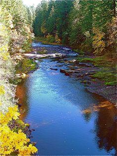 South Santiam River, Cascadia State Park, Oregon. #SurfsUpVoxBox @Influenster