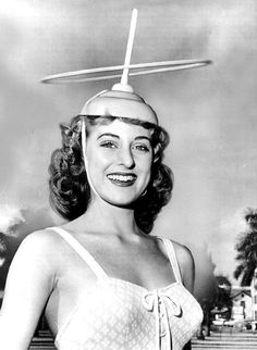 The Atomic Ring Toss Queen of 1957.