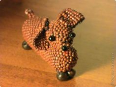 beaded dox (how cute!)