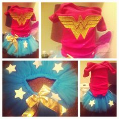 wonder woman costume - kids
