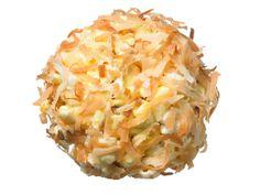 Coconut-Almond Popcorn Balls || foodnetwork.com