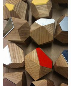 #knobs #facets #wood