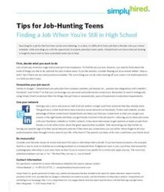jobs for teens