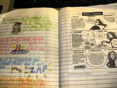 Interactive Student Notebooks 6th grade science curiculum ideas