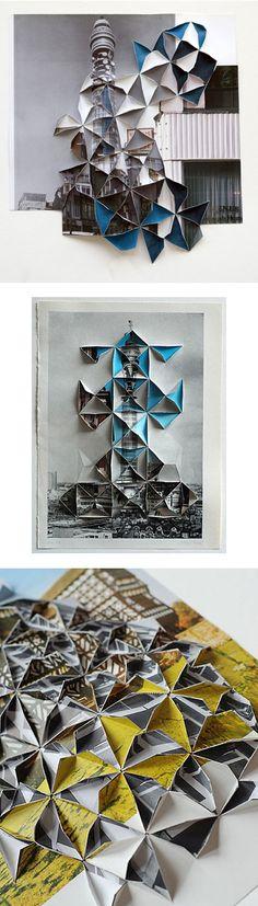Folded photos