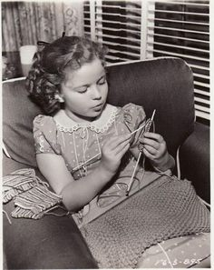 Shirley Temple - Knitter