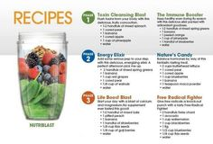 Nutriblast Recipes