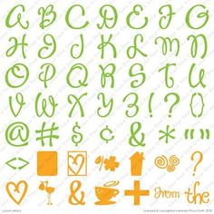 Cricut® Lyrical Letters Cartridge