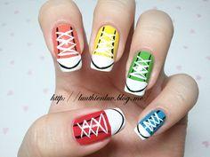 Sneaker nails!