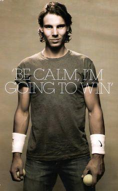 Amen! / Rafael Nadal / tennis #vamosrafa #kingofclay #rafanadal