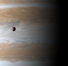 Io: Moon Over Jupiter   Image Credit: Cassini Imaging Team , SSI , JPL , ESA , NASA [APOD]
