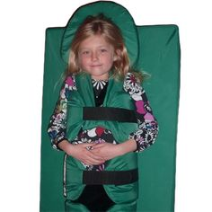 Does this come in adult sizes? Big Hug - A Big Hug is just what the doctor ordered. Ergonomically designed to calm, reorganize and redirect the energy of children and adults living with autism or sensory challenges and would benefit from deep pressure therapy. Parents, teachers and therapists can apply different amounts of soft, wrap-around pressure to five separate