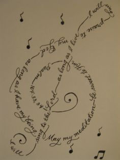 tattoo ideas, the lord, music, psalms, psalm 104