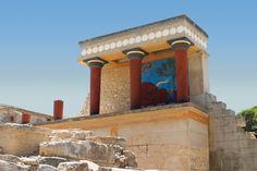 Exploring Crete #Heraklion #Crete #Greece crete greec, ruin, greece, castles, palaces, art crete, travel, place, island
