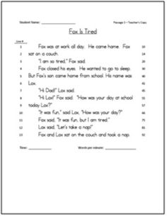 Reading Assessments: 1st Grade RTI (Aligned with Common Core)