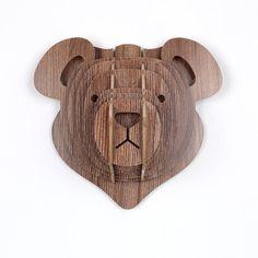 Bear Mahony by Moodadventures on Etsy,