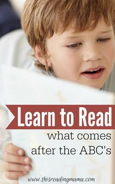 Learn to Read - What Comes After the ABCs | This Reading Mama