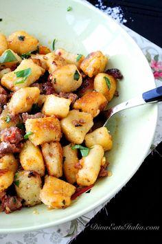 Potato Gnocchi w/ Sausage, Fennel & Tomatoes