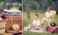 Vintage Baseball Party Printables