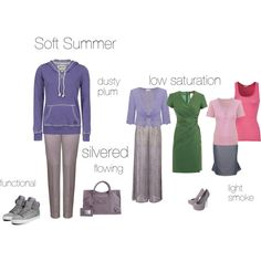 """""""Soft Summer - an excercise"""" by silverwild on Polyvore"""