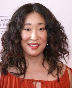Sandra Oh Long Curls