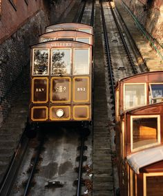 Ready for a ride? Take a funicular up to Budapest's Buda Castle - the whole family will have fun.