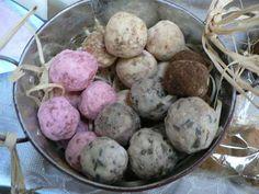 "Recipe for ""Prim Soap Balls"" - so easy using bars of soap you already purchase"