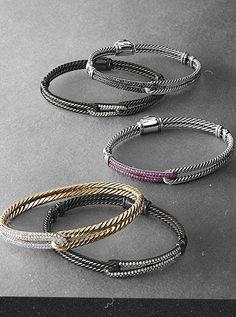 Petite Pave Bracelets