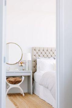 pretty white bedroom
