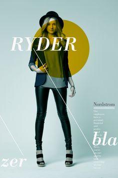 NordStrom Posters (business class) by Matthew Metz, via Behance