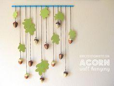 stayathomeartist.com: thanksgiving printable & acorn wall hanging...
