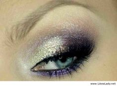 Awesome makeup for blue eyes