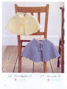 Vestuario para Bebe em Crochet