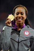 Sanya Richards-Ross GOLD MEDAL,  August 5, 2012  View image detail