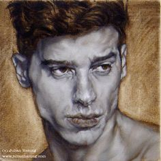 Marc in Grisaille by Julian Hsiung