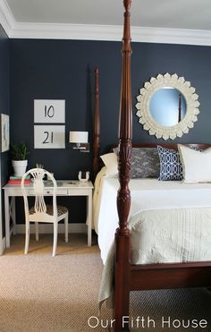 Carving Out a Workspace.........in the master bedroom